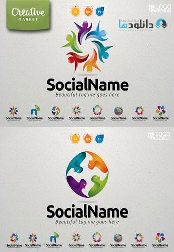 9 Community Logo Value Pack Icon  دانلود مجموعه آیکون Community Logo Value Pack Icons