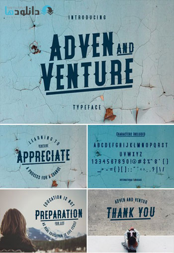 Adven-and-Venture-Typeface
