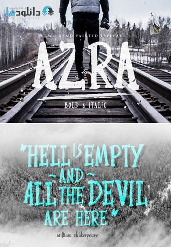 Azra-Typeface