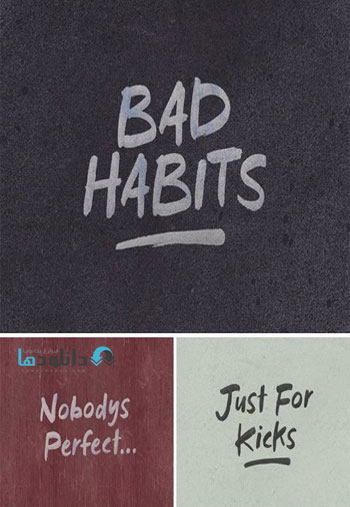 Bad-Habits-Display-Font
