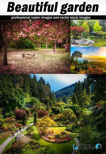 Beautiful-garden-Stock