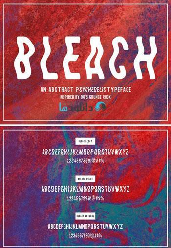 Bleach-Sans-Serif-Font