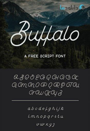 Buffalo-Script-Font