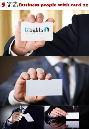 Business-people-with-card