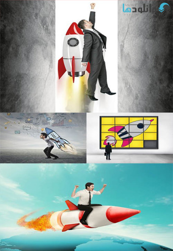 Businessman-with-Rockets