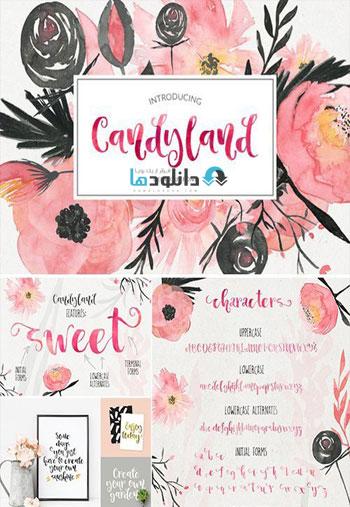 Candyland---delicious-font