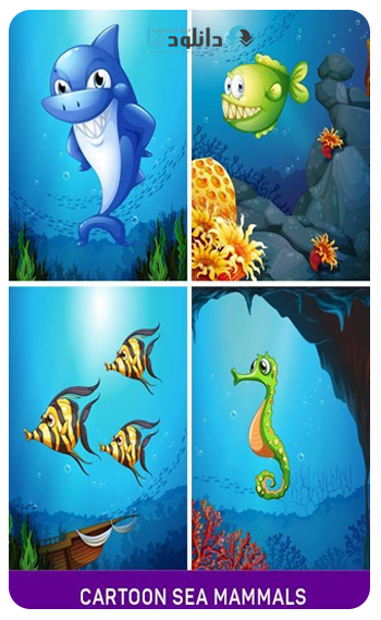 Cartoon-sea-mammals-5X