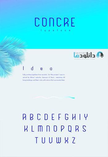 Concre-Typeface
