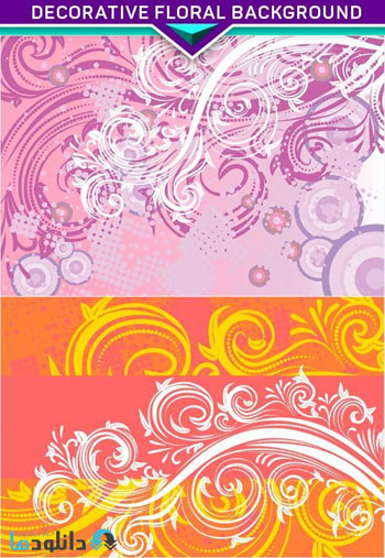 Decorative-floral-background-Vector