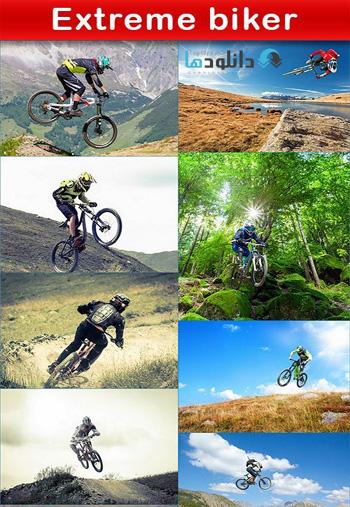Extreme-biker-Stock