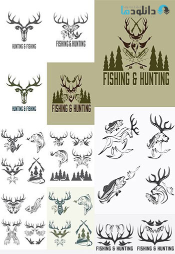 Hunting-and-fishing-vintage-emblems-3-Icon