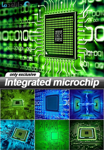 Integrated-microchip-Stock