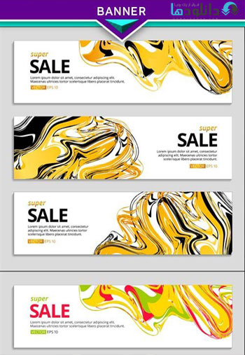 Liquid-gold-selling-banner-web-header-Vector
