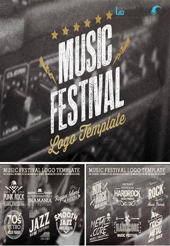 Music-Festival-Logo-Template