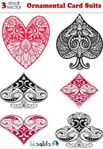 Ornamental-Card-Suits