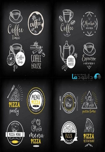Pizza-Menu-Restaurant-Badges--Food-Design-Icons-with-Hand-Drawing-Elements