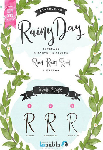 Rainy-Day-Script-Fonts