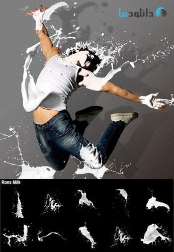 Ron's-Milk-Photoshop-Brushe