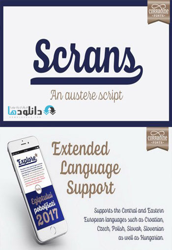 Scrans-Font-Family