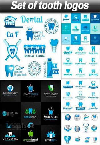 Set-of-tooth-logos-Icon