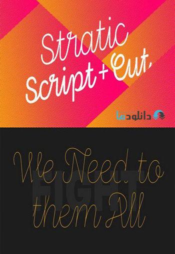Stratic-Script-Font-Family