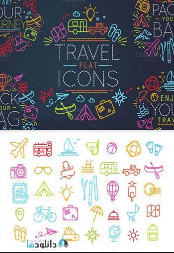 Travel-Flat-Icons