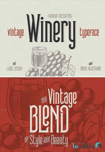 Winery-typeface