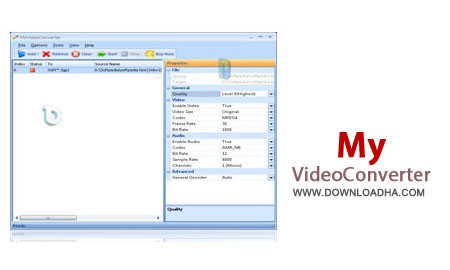 MyVideoConverter Ultimate 4.01 تبدیل فایلهای ویدئویی MyVideoConverter Ultimate 4.01