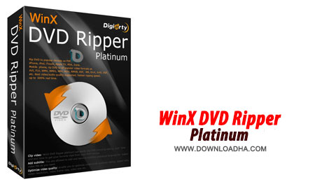 WinX DVD Ripper Platinum 7.5.1 ریپ کردن دی وی دی ها با WinX DVD Ripper Platinum 7.5.1