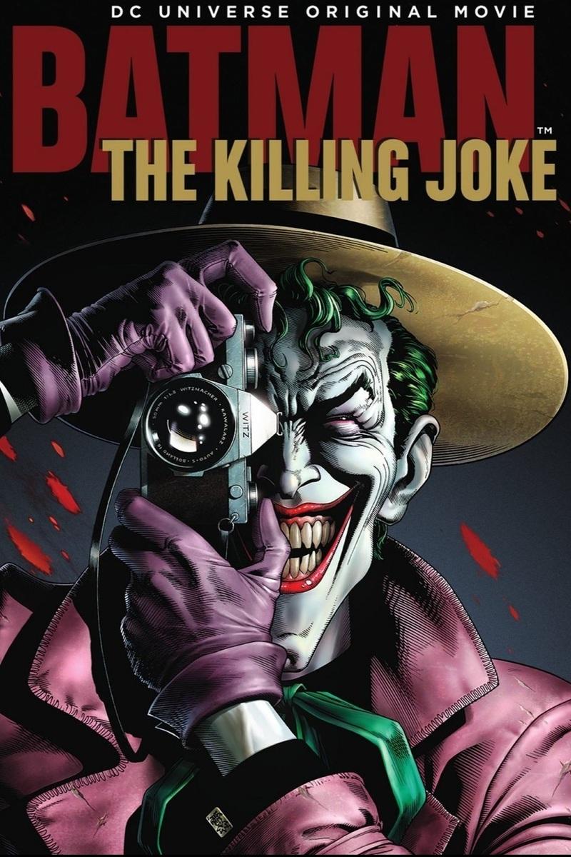 دانلود انیمیشن Batman The Killing Joke 2016 + کیفیت بلوری ۴K UHD 2160p