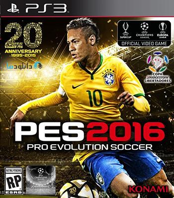 PES 2016 ps3 cover small دانلود بازی Pro Evolution Soccer 2016 برای PS3